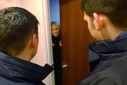 STOCK PHOTO................... Story by .. Rogue traders. bogus callers on the elderly can be a shocking experience .
