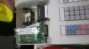 Tobacco found in the till